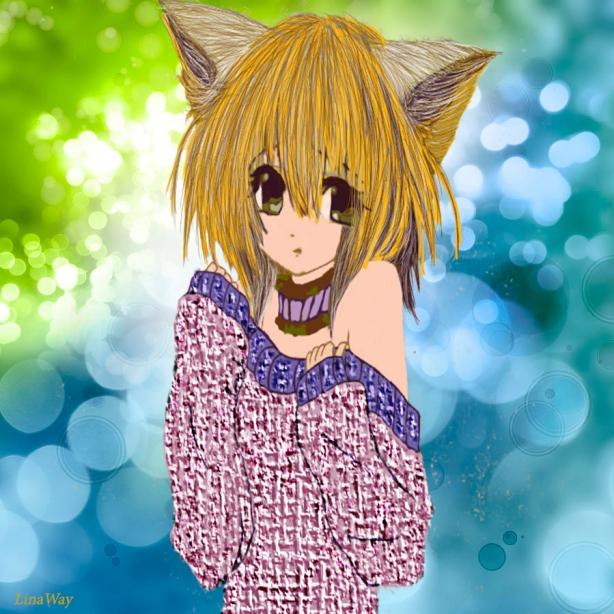 manga kitten